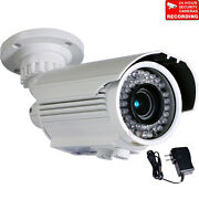 Security Camera Outdoor Ir Day Night 700tvl 42 Leds With 1/3 Sony Effio Ccd Btz
