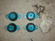 1996 Seadoo Sportster Bombardier Exhaust System Rubber Mount Shim Set Of Four