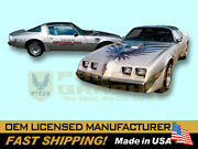 1979 Trans Am 10th Anniversary Daytona 500 Pace Car Edition Decals And Stripes Kit