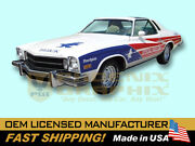 1975 Buick Free Spirit Indy 500 Pace Car Decals And Stripes Kit