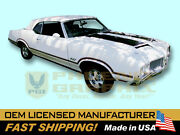 1970 Oldsmobile Cutlass 442 Indy 500 Pace Car Decals And Stripes Kit