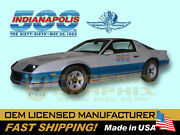 1982 Camaro Z28 Indy 500 Pace Car Complete Decals And Stripes Kit