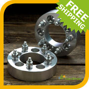 2 Wheel Spacers Adapters For 5x150 Toyota And Lexus 1.5 Inch Thick