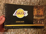 2008-2009 Unused Complete Los Angeles Lakers 65-17 Nba Season Ticket Holder Book