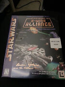 Star Wars X-wing Alliance Pc, 1999 Lawrence Holland Signed Box
