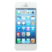 Apple Iphone 5- 64gb - White And Silver Verizon Smartphone-factory Unlocked