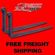 New Class Iii 3 8 Ft Forks 2 X 6 X 96 Pair Forklift Fork Foot