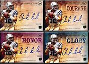 4 Andrew Luck 2012 Topps Valor Auto Rc Lot Base Courage Honor Glory Buymvp