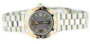 Tag Heuer Wn 1351two Tone Stainless Steel 18k Rose Gold Wrist Watch For Women