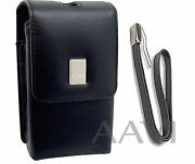 Canon Leather Carrying Case Bag And Wrist Strap For Powershot Elph Digital Cameras