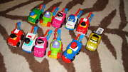 Nwt New Fisher Price Little People Wheelies Lot Of 11 Disney Cars +