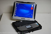 Panasonic Cf-19 Touch Screen Tablet Toughbook Win 7 Pro 3gig 750gb Office 2007