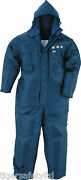 Delta Plus Panoply Igloo 3m Blue Mens Cold Work Storage Freezer Suit Coveralls