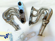 Manzo Stainless Steel Headers Fits Porsche Boxster 986 1997-2004 2.5l 2.7l 3.2l