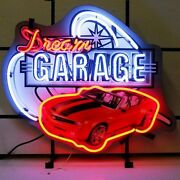 2016 Neon Sign Chevrolet Convertible Chevy Red Camaro Dream Garage Man Cave Lamp