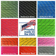 Reflective Paracord Type Iii 7 Strand 550 Parachute Cord Free Shipping