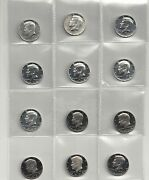 1964 - 2014 S Proof Kennedy Half Dollar Complete Set Include Silver Proof ,sms