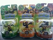 Skylanders Swap Force Spy Rise Rubble Rouser And Stink Bomb - New Ready To Ship