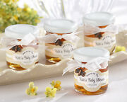 24+ Personalized Sweet As Can Bee Honey Jar - Baby Shower Favor With Bee Charm