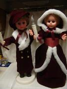 Vintage Animated Little People Boy And Girl Light/motion W/boxes Free Shipping
