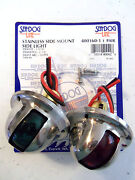 Stainless Side Light - Side Mount - Starboard And Port - Seadog 400160-1