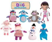New Official 12 Doc Mcstuffins Plush Soft Toys Hallie Lambie Stuffy Chilly Doc