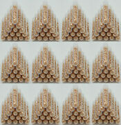 100 Large 5ml Vials Filled Full Of Big Gold Leaf Flakes Lowest Price On The Web