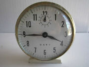 Vintage Dart Wind Up Clock - Works Great - Second Hand Doesn't Move - Tub Rh-7