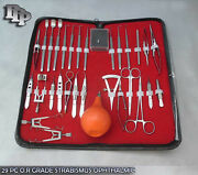 29 Pc O.r Grade Strabismus Ophthalmic Eye Micro Surgery Surgical Instruments