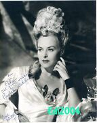 Paulette Goddard Vintage Original Autograph 1944 Photo And Signed Letter And Card