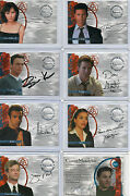 Charmed Seas 1,po3,conversations,destiny Autograph And Pieceworks Card Selection