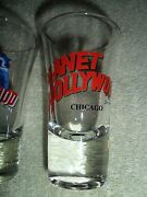 Vintage 1990 Planet Hollywood Chicago Shot Glass Souvenir Beer Collectible