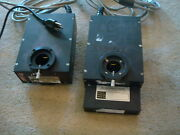 Crg Precision Electronics Filter Wheel And Shutter Lot Model 052339 052344 052383
