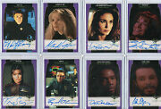 Babylon 5 Season 4 5 Profiles And Complete Autograph Card Selection Nm
