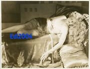 Thelma Todd Vintage Original Photo Sexy Rare 1920and039s Double-weight Linen Backed