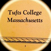 1929 Tufts College/university Yearbook Jumbovery Fine, Used Condition {mass}