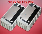 Lot White Iphone 4 Cdma Back Glass Rear Door Battery Case Cover Replacement