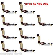 Lot Charging Dock Port Connector Flex Cable For Iphone 4s Charger White B247