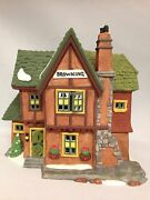 Department 56 Dickensand039 Village Series Browning Cottage 5824-6 New In Box