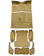 Replacement Flooring Set Complete For Jeep Wagoneer 1401-232 Mass Backing