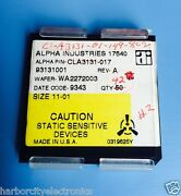 42x Cla3131-017 Alpha Industries Ic Wafer Chip Style Cla3131-01-149-802 42/unit