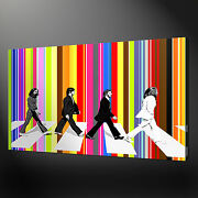 Beatles Abbey Road Canvas Wall Art Pictures Prints Variety Of Sizes Free Uk Pandp