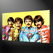 Beatles Four Canvas Wall Art Pictures Prints Variety Of Sizes Free Uk Pandp