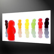 Jelly Baby Beans Canvas Wall Art Pictures Prints Variety Of Sizes Free Uk Pandp