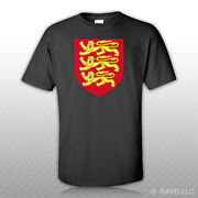 Royal Arms Of England T-shirt Tee Shirt Free Sticker Coat Of Arms English