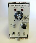 Westinghouse Electric Unholtz-dickie Signal Conditioner 1112hx 1112