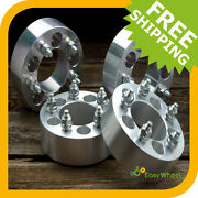 4 Jeep Wrangler Wheel Spacers Adapters Tj Yj Fits All 5x4.5 And 5x114.3 Models