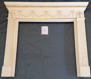 53 1/4w X 45 1/4tall Fire Place Mantel 6, In Color