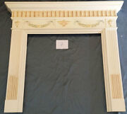 53 1/4w X 47 1/2tall Fire Place Mantel 7, Painted