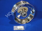 Harley Softail Fxst Fxstb Fxsts Chrome Rear Wheel Rim 17 X 6 3/4  41647-06
